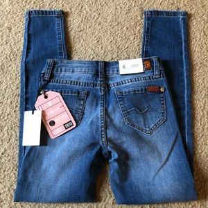 NWT! Girl's 7 For All Mankind Skinny Jeans